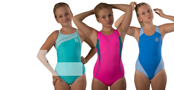 Детские купальники для бассейна