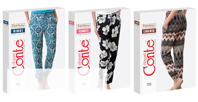 Женские брюки - 100% Вискоза