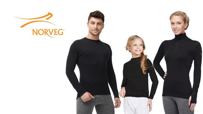 Norveg - термобелье для всей семьи